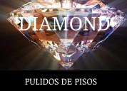 Pulido de piso diamond