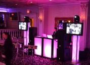 Renta de luz, sonido, vídeo, inmobiliario, karaoke