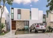 Casa en venta al norte en privada residencial amantea merida yucatan 3 dormitorios 378 m2