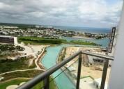 Departamento en venta amueblado penhouse en torre maioris puerto cancun 3 dormitorios 415 m2