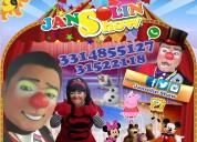 Show de los payasos del momento jansolin y jassiel