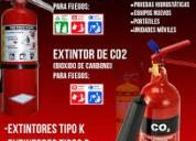 Extintores nuevos, recargas recoleccion a domicili