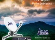 Internet satelital merida yucatan