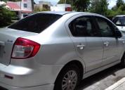 Suzuki sedan sx4 2008 gris 4 cils, automatico