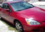Honda accord coupe 2005 rojo v6, quemacocos