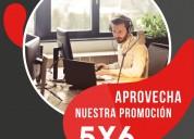 Increíble promociÓn 5x6 rentas de oficinas físicas