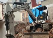 Renta de mini excavadora 337 y 305
