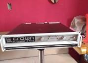 Amplificador crown macro tech 2402