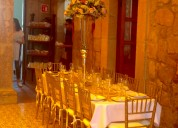 Salón elegante para eventos