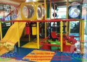 Juegos infantiles modulares tipo laberinto y más