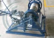 Torre de luz con generador a gasolina