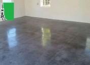 Pisos de concreto pulido en fresco y reparaciones