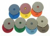 Vendo pads resinas para pulidos alto brillo