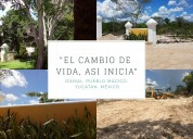 Terrenos yucatan  con servicios