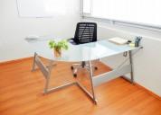 Renta estas oficinas amuebladas y ahorra dinero