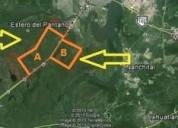 Lh terreno en venta carretera transismica fed 185 tierra nueva co en coatzacoalcos