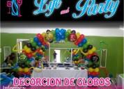Decoracion con globos en Puebla