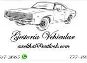 Placas- gestoria vehicular- cuernavaca morelos