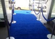Renta de unifilas y alfombras en guadalajara
