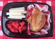 Box lunch, menu infantil