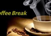 Coffee break, barra de cafe