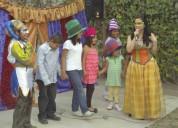 Cuentacuentos, show de titeres, cuenta cuentos