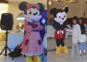 INFLABLE MICKEY Y MINNIE MOUSE