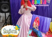 Show de la sirenita, show de la princesa ariel