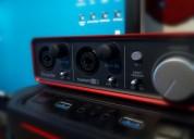 estudio de grabación de audio (home studio)