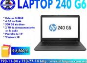 Laptop hp 240 g6