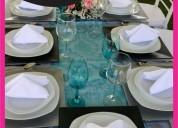 Sillas y mesas rentables para tu evento