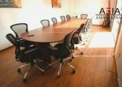 Aula  equipada para tus reuniones