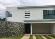 casa en privada con piscina en cholul 3 dormitorios 334 m2