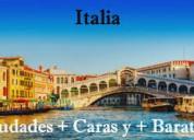 Clases de italiano según país el que vayas