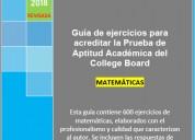 Guía paa college board revisada (matemáticas)