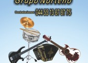 Conjunto o grupo norteÑo 044 55 13 67 87 75