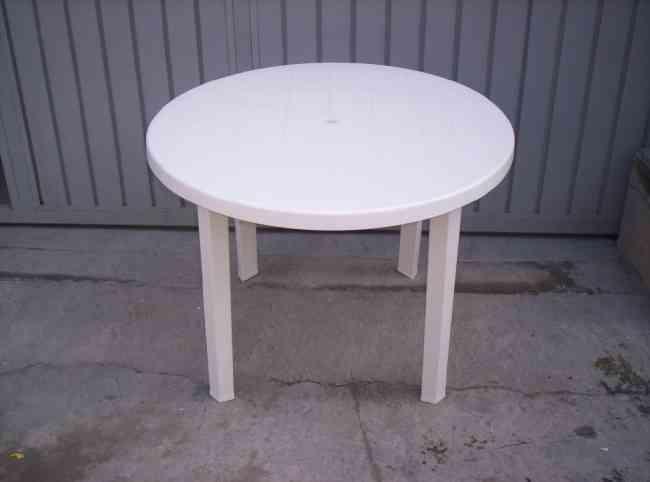 mesas de plástico  desmontables