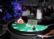 Renta de mobiliario de casino para eventos