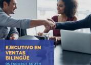 Ejecutivo de ventas - bilingüe