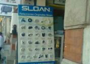 Reparación de fluxometro palanca electronico sloan