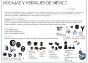 Fabricante de ruedas y herrajes