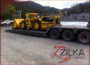 Zilka transportación de carga pesada especializada