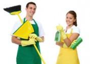 Limpieza sirvientas de planta