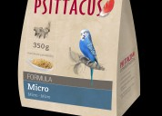 Formula micro mantenimiento para aves pequeñas 1k
