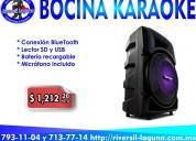 Bocina karaoke ksp-300 vorago