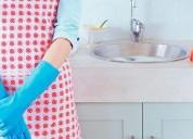 Empleadas domesticas -confiables y garantizadas