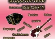Grupo norteÑo 044 55 13 67 87 75 para tus fiestas