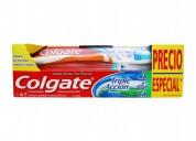 Arma promociones desde casa (pasta+cepillo dental)