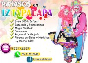 Payasos para fiestas infantiles en iztapalapa