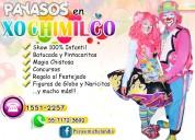 Payasos para fiestas infantiles en xochimilco